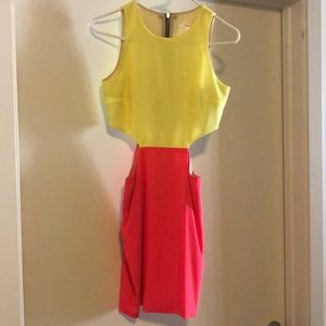 Naven size small dress with cutouts